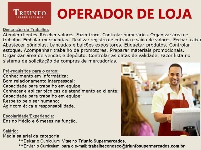 Operador de Loja