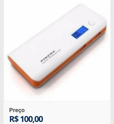 Carregador Portatil de baterias de Celular