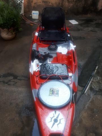 Caiaque Flash milha náutica completo aceito oferta em dinheiro - Foto 3