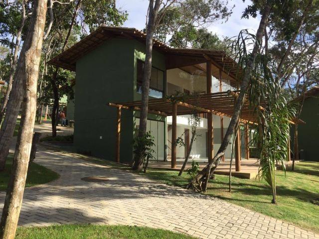 Casa 2/4 Nova, na beira da Lagoa Aruá em Praia Forte !!! Financia !!! - Foto 11