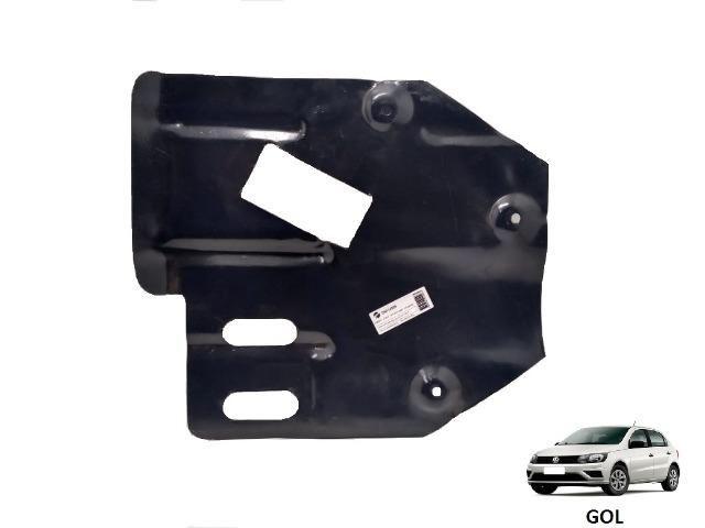 Protetor do cárter / Peito de aço - novo - VW Gol - Voyage