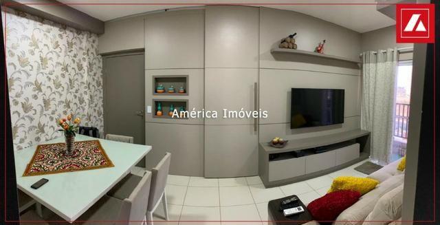 Apartamento Edificio Alvorada - 3/4, mobiliado, 2 vagas, Lindo apartamento