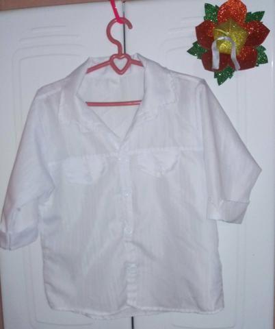 Blusa social branca