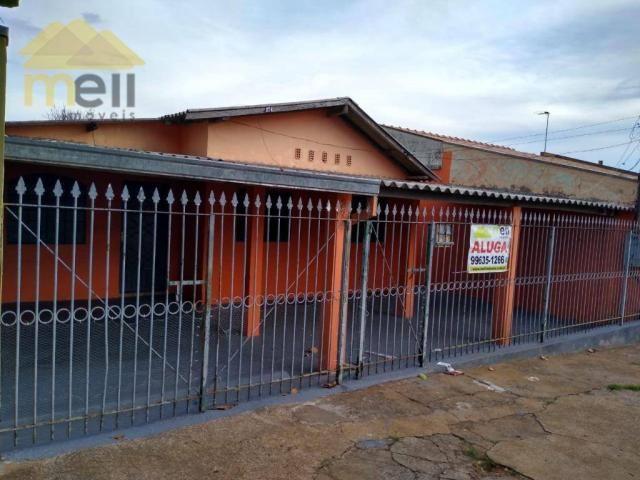 Casa com 2 dormitórios para alugar, 87 m² por R$ 650,00/mês - COHAB - Presidente Prudente/