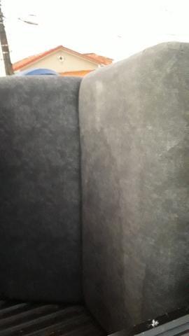 Sofá cama novo divido cartão - Foto 2