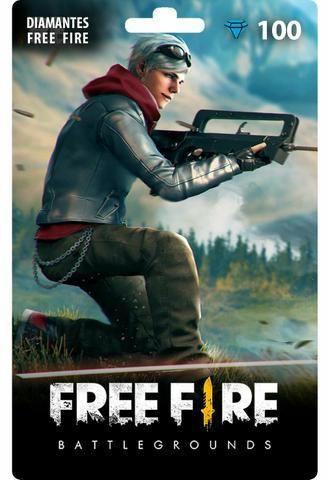Free Fire: 100 Diamantes [Recarga]