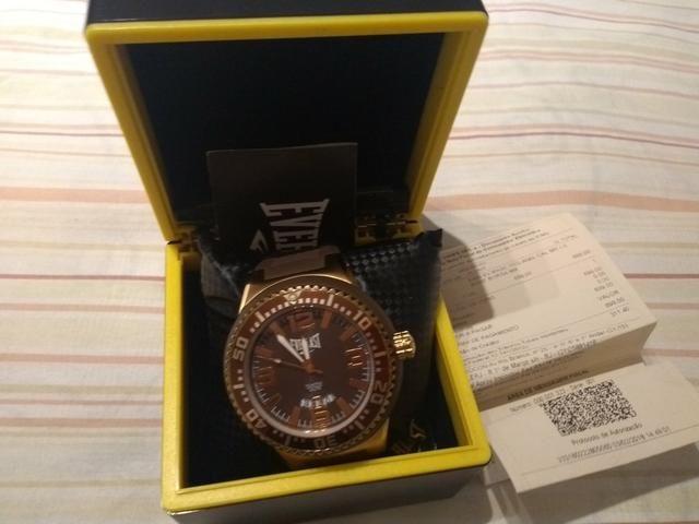 cced235b22a Relógio Everlast original pouquíssimo usado - Bijouterias