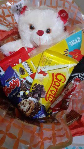 Cesta de chocolates  - Foto 4