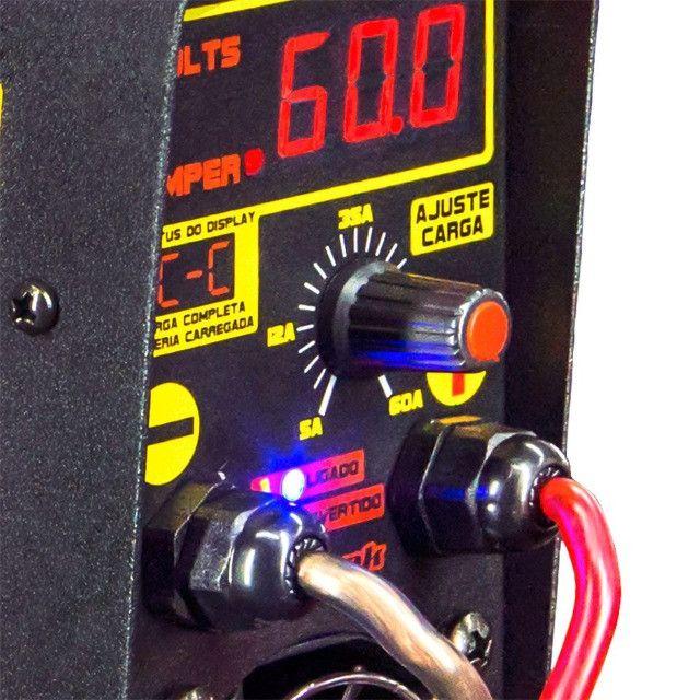 Carregador De Bateria Charger Profissional Usina Spark (60 amp / 12v) - Caruaru (PE) - Foto 3