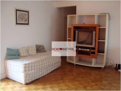 Apartamento com 4 dormitórios para alugar, 124 m² por R$ 4.700,00/mês - Cerqueira César -