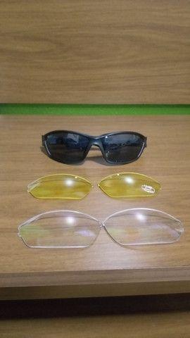 Kit óculos + 3 lentes esportivas Disix - Foto 3