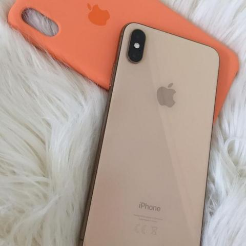 Iphone xs 64gb ouro - 6 meses de garantia apple