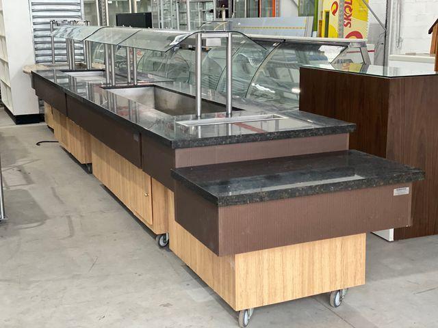 Buffet quente e frio top com granito NOVO CHEFF - Foto 2