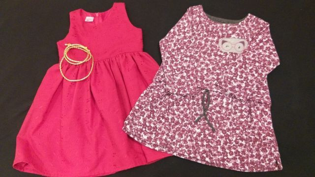 Lote de roupas menina tamanhos 3 e 4 pouco uso - Foto 5