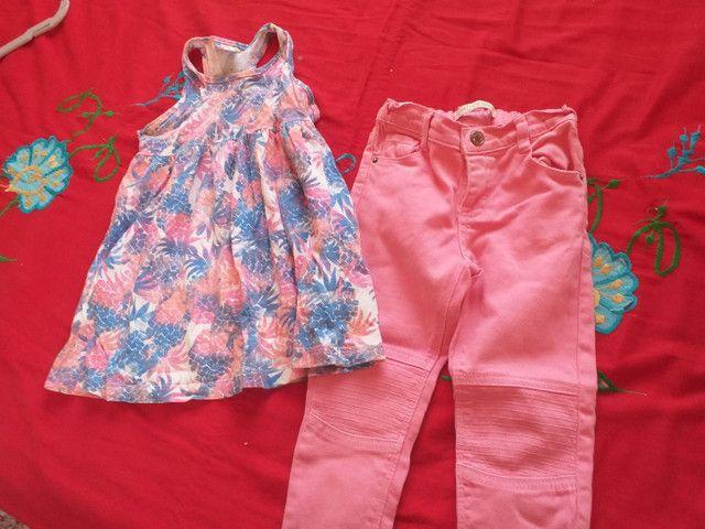 Venda de roupas infantis (feminina)/ Bijuterias