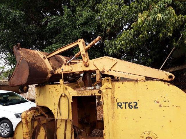 H com caçamba da Retro Escavadeira Case 580H