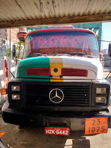 Vendo caminhão para transporte de gás
