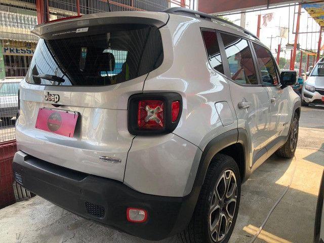 Jeep Renagade 1.8 2017 Automática +(gnv) único dono Entr + 48x1.199 fixas no CDC - Foto 8