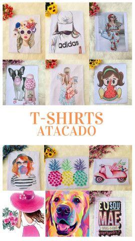 T-Shirts no Atacado e Varejo