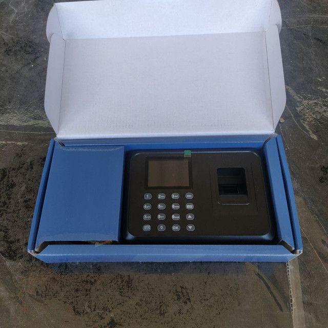 Relógio De Ponto Digital Leitor Biométrico