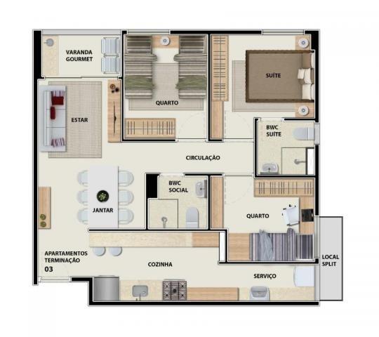 Apartamento com 3 quartos no Barro - Recife/PE - Foto 8