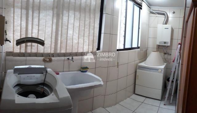 Apartamento para venda 03 dormitórios em Santa Maria com hidromassagem sacadas com churras - Foto 12