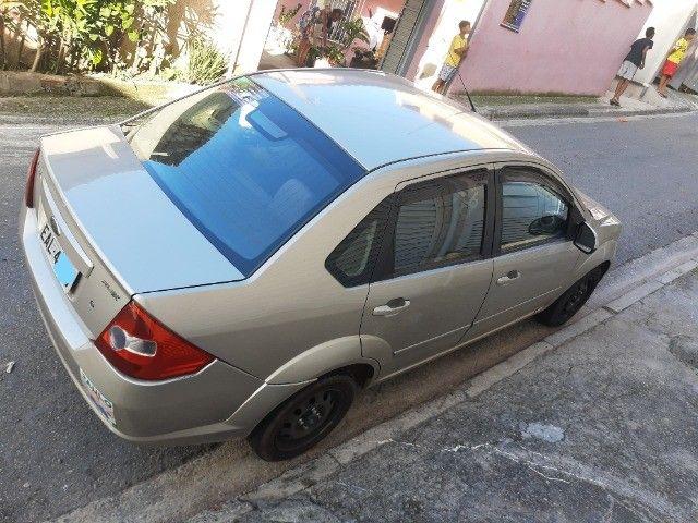 Fiesta Sedan 1.0 8V flex 4p 2007 completo - Foto 8