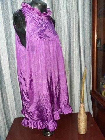 Vestido Lilás - Tamanho  M - Foto 4