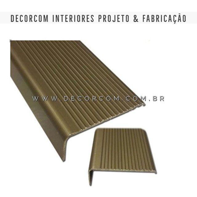 Perfil Piso Laminado Carpet Cerâmica  - Foto 3