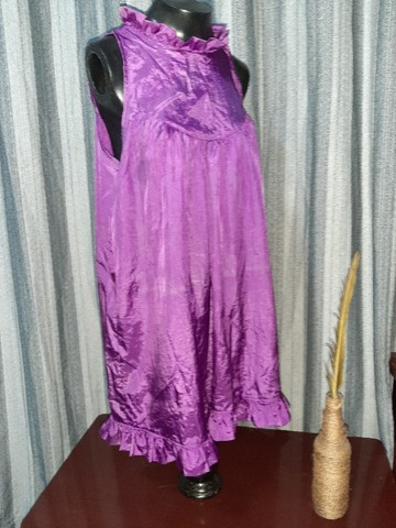 Vestido Lilás - Tamanho  M - Foto 2