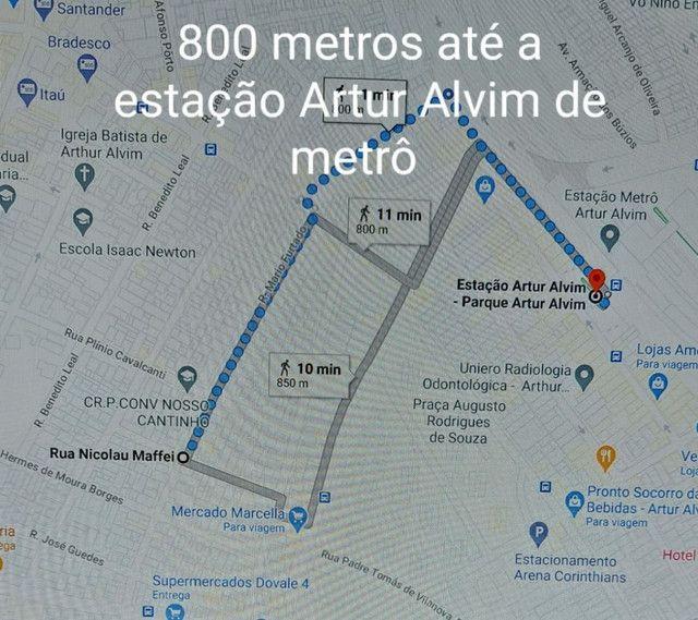 Casa a 800 metros do metrô Artur Alvim 1dorm. - Foto 2