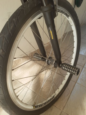 Bicicleta aro 26 aluminio roda aero cubo - Foto 2