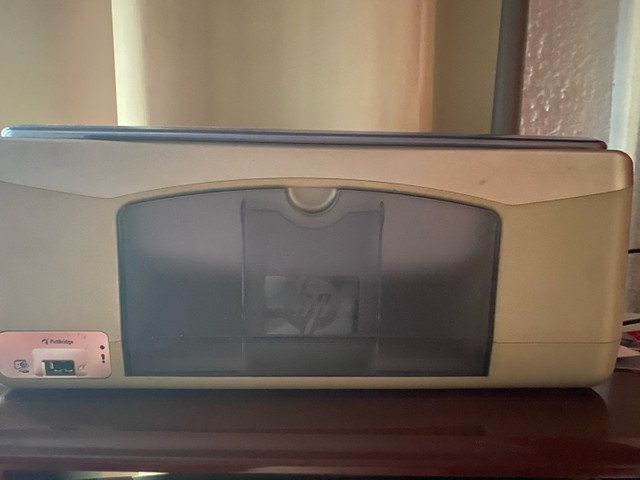 Computador  com mesa e impressora  - Foto 3