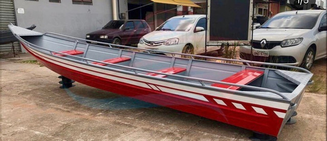 Fabricamos canoas e botes de alumínio PREÇO FÁBRICA  - Foto 4