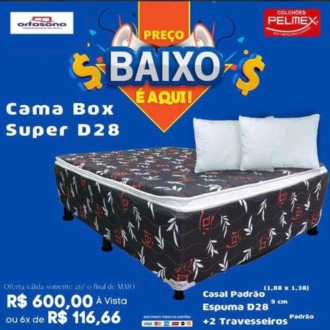 Cama fofinha Casal pelmex ////
