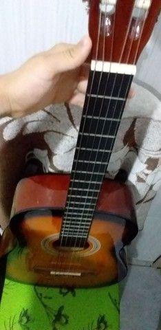 Vendo ou troco violão vogga novo  - Foto 4