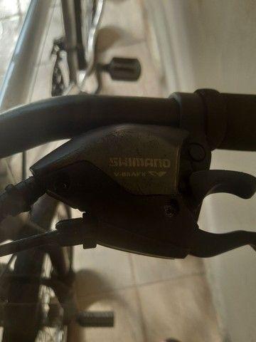 Bicicleta aro 26 aluminio roda aero cubo - Foto 4