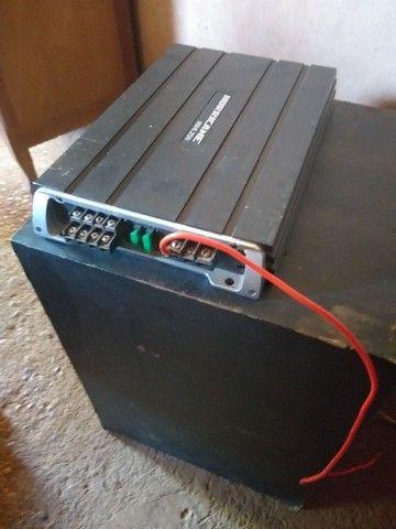 Vendo potencia de 1000 rms e um sub de 12 de 400 rms - Foto 2