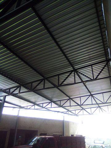 Fazemos área cobertura para casa galpão,grade, reforma de galpão - Foto 2
