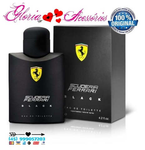 Ferrari Black 125ml Original