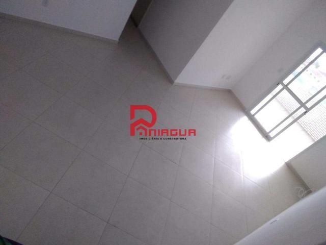 Apartamento para alugar com 3 dormitórios em Guilhermina, Praia grande cod:376 - Foto 5