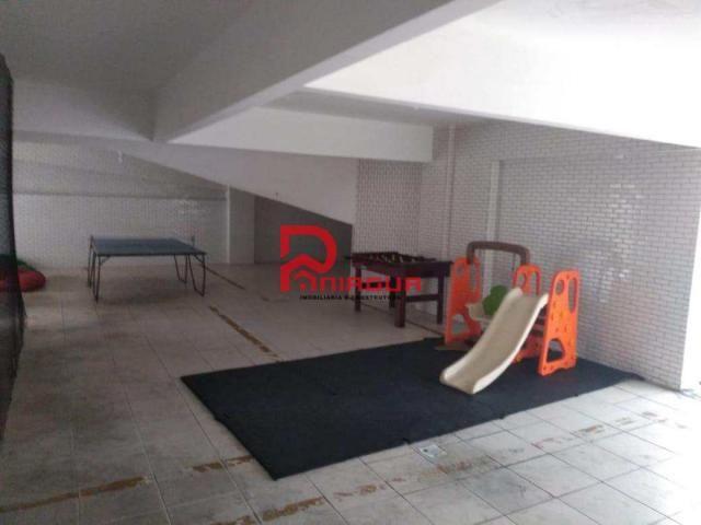 Apartamento para alugar com 3 dormitórios em Guilhermina, Praia grande cod:376 - Foto 14