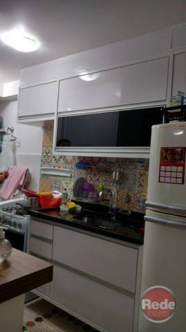 Apartamento com 2 dormitórios à venda, 49 m² por r$ 173.000 - vila tesouro - são josé dos  - Foto 4