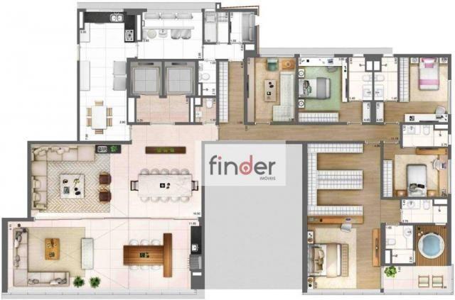 Apartamento com 4 dormitórios à venda, 343 m² por R$ 10.495.000 - Vila Olímpia - São Paulo - Foto 3