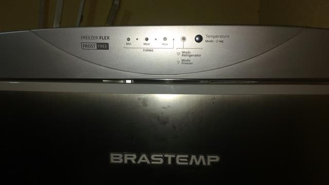 Freezer Brastemp vertical inox