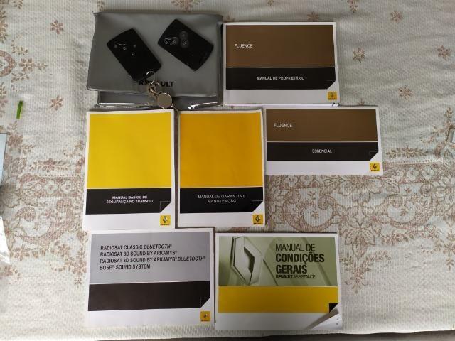 Renault Fluence 2.0 2012 com teto solar - Foto 17