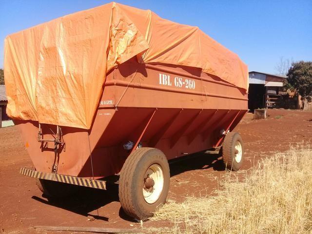 Carreta silo estacionaria 26 mil litros