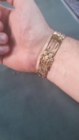 Bracelete de ouro 18k - Foto 2