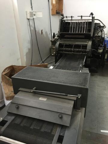 Maquina verniz bally+ heideberg kord offset