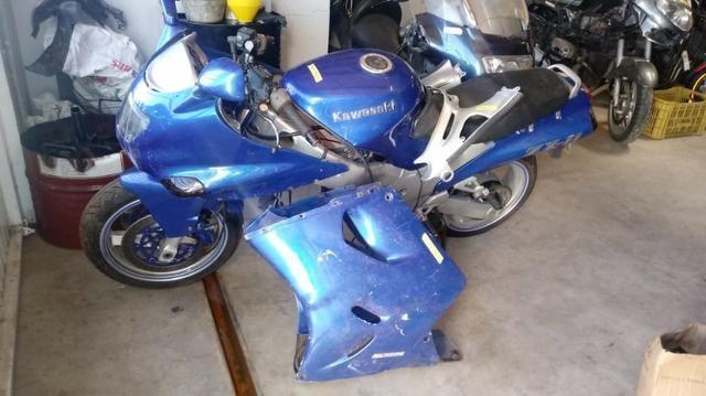 Moto Para Retiradas Peças / Sucata Kawasaki Zx11 Ano 1997